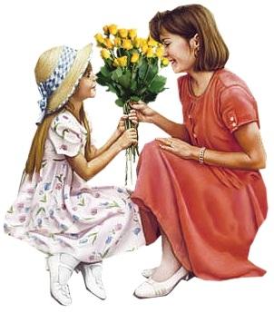 """Картинка """"Мать и дочь"""""""