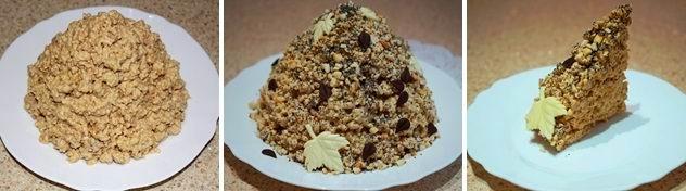 """Торт """"Муравейник"""" без яиц (рецепт-2)"""